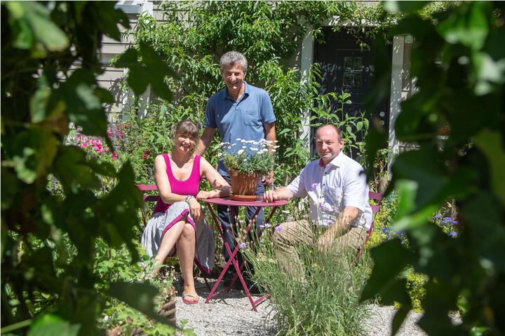 Garten der Familie Stiller