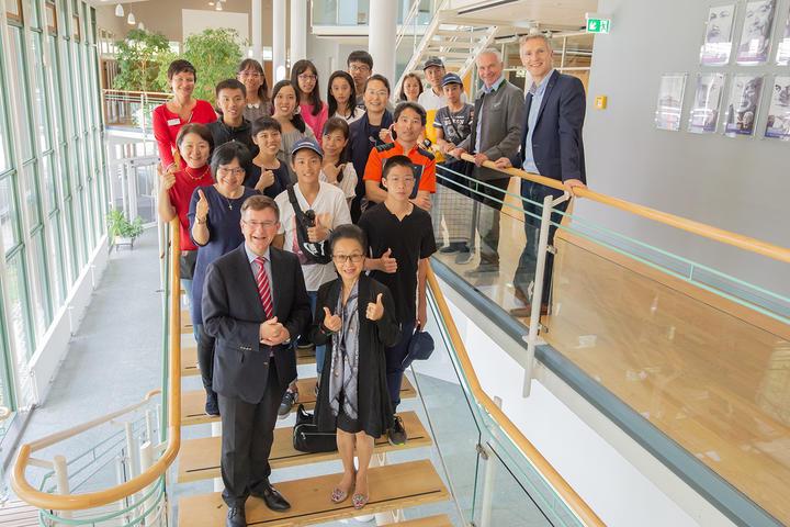 Studenten aus Taiwan im Landratsamt Starnberg