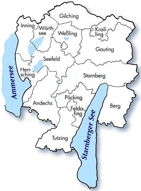 Landkreis und Gemeinden