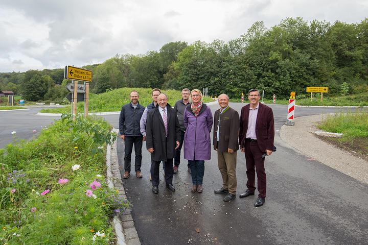 Eröffnung Kreisverkehr in Herrsching
