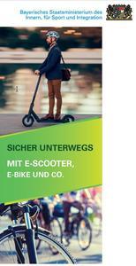 Externer Link: Titelbild Flyer E-Scooter