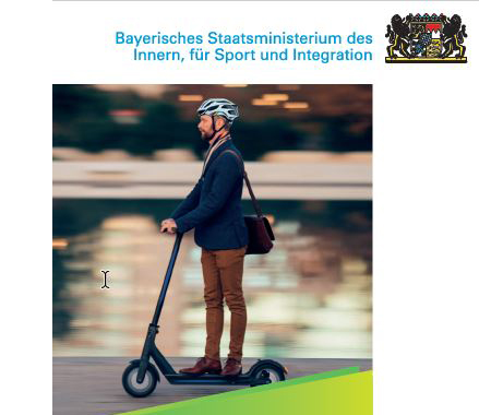 Titelbild Flyer E-Scooter