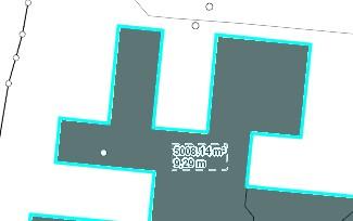 Gebäudehöhe und Fläche
