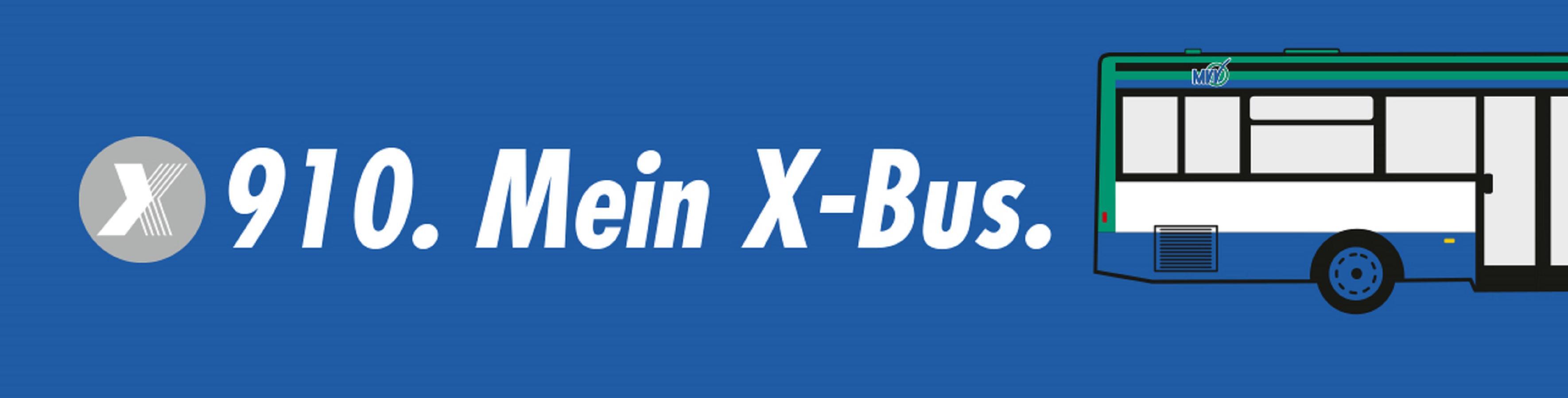 Buslinie X910 - Xpressbuslinie