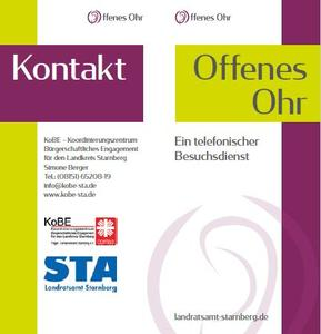 Flyer Offenes Ohr