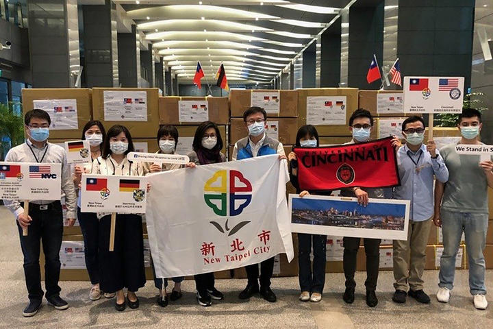 Unterstützung aus Taiwan