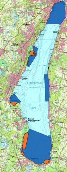 Starnberger See Karte