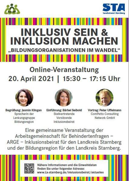 Plakat Inklusive Bildung