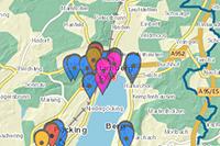 Externer Link: Geo-Anwendung Coronavirus