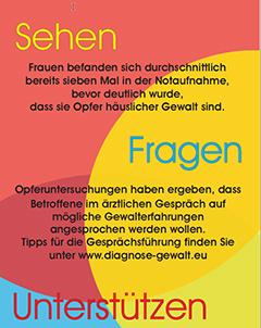 Kitteltaschenkarten für medizinisches Fachpersonal