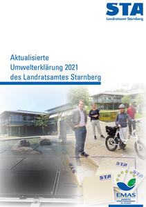 Umwelterklärung 2021 Titel