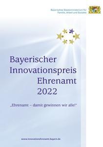 Flyer Bayer. Innovationspreis Ehrenamt 2022