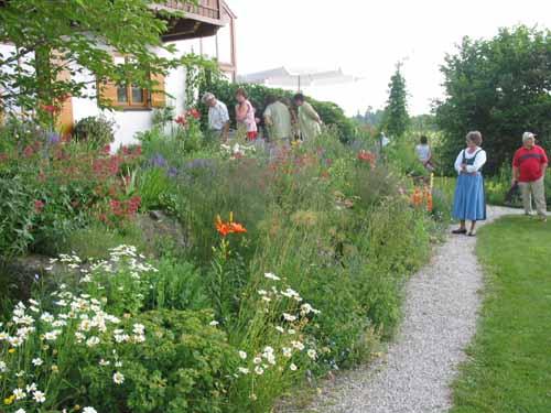 Tag der offenen Gartentür 2005 - Staudenvielfalt