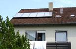 Solarthermische Anlage in Seefeld