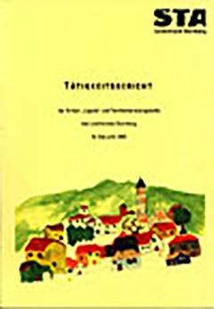 Tätigkeitsbericht der Kinder- Jugend- und Familienberatungsstelle