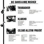 Songs gegen Sucht - Bands
