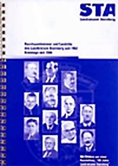 Bezirksamtmänner und Landräte von 1902 bis 2002 in chronologischer Darstellung