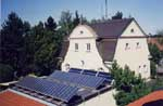 Solarthermische Anlage in Inning - Brucker Str. 10