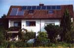 Solarthermische Anlage in Gilching - Münchener Str. 8