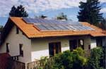 Solarthermische Anlage in Gauting - Römerstr.15